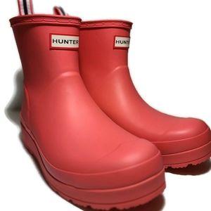 Hunter Boots Women's Play Short Rain Boots Sz 9